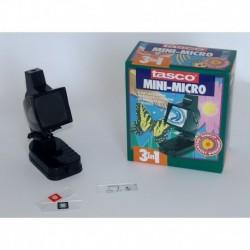Monitor e Microscopio Tasco 300 ingrandimenti con Luce a 3 Vie