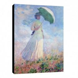 Quadro Monet Art. 03 cm 50x70 intelaiato pronto da appendere Stampa su tela Canvas