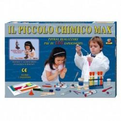 Il Piccolo Chimico Max con Microscopio 450 X alto 23 cm. Piu' di 180 Esperimenti 2 vetrini preparati e 2 vetrini neutri