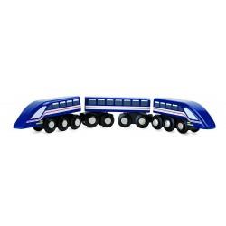 Treno ad Alta velocita' Freccia Azzurra Trainibile