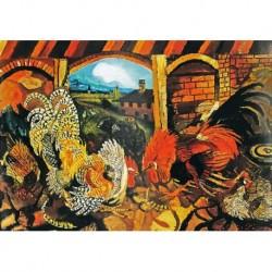 Poster Ligabue Art. 03 cm 35x50 Stampa Falsi d'Autore Affiche Plakat Fine Art
