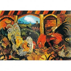 Poster Ligabue Art. 03 cm 70x100 Stampa Falsi d'Autore Affiche Plakat Fine Art