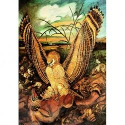Poster Ligabue Art. 04 cm 35x50 Stampa Falsi d'Autore Affiche Plakat Fine Art