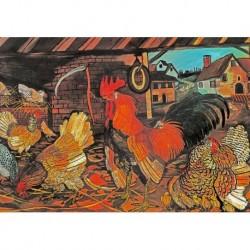 Poster Ligabue Art. 05 cm 50x70 Stampa Falsi d'Autore Affiche Plakat Fine Art