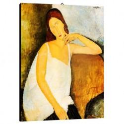 Bild Modigliani Art. 05 cm 50x70 Kostenloser Transport Druck auf Leinwand das gemalde ist fertig zum aufhangen