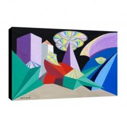 Quadro Balla Art. 01 cm 70x100 Trasporto Gratis intelaiato pronto da appendere Stampa su tela Canvas
