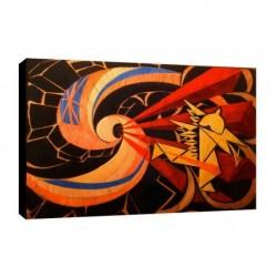 Quadro Balla Art. 04 cm 70x100 Trasporto Gratis intelaiato pronto da appendere Stampa su tela Canvas