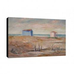 Quadro Carlo Carra Art. 06 cm 35x50 Trasporto Gratis intelaiato pronto da appendere Stampa su tela Canvas