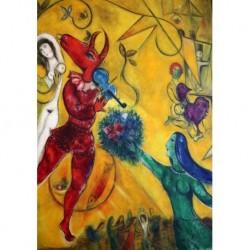 Poster Chagall Art 09 cm 35x50 Stampa Falsi d'Autore Affiche Plakat Fine Art