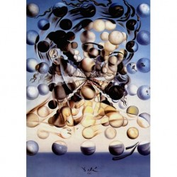 Poster Dali Art. 04 cm 35x50 Stampa Falsi d'Autore Affiche Plakat Fine Art