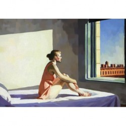 Poster Hopper Art. 02 cm 50x70 Stampa Falsi d'Autore Affiche Plakat Fine Art