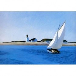 Poster Hopper Art. 03 cm 35x50 Stampa Falsi d'Autore Affiche Plakat Fine Art