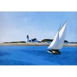 Poster Hopper Art. 03 cm 50x70 Stampa Falsi d'Autore Affiche Plakat Fine Art
