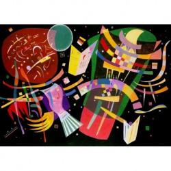 Poster Kandinsky Art. 04 cm 35x50 Stampa Falsi d'Autore Affiche Plakat Fine Art