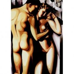 Poster Lempicka Art. 01 cm 35x50 Stampa Falsi d'Autore Affiche Plakat Fine Art