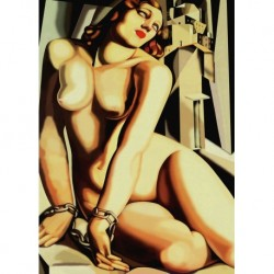 Poster Lempicka Art. 02 cm 35x50 Stampa Falsi d'Autore Affiche Plakat Fine Art