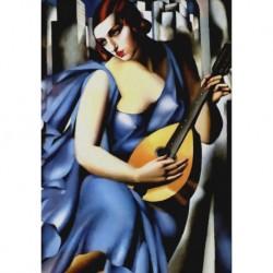 Poster Lempicka Art. 04 cm 35x50 Stampa Falsi d'Autore Affiche Plakat Fine Art