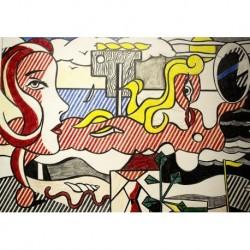 Poster Lichtenstein Art. 03 cm 50x70 Stampa Falsi d'Autore Affiche Plakat Fine Art