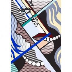 Poster Lichtenstein Art. 05 cm 35x50 Stampa Falsi d'Autore Affiche Plakat Fine Art