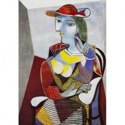 Poster Picasso Art. 01 cm 35x50 Stampa Falsi d'Autore Affiche Plakat Fine Art