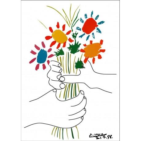 Poster Picasso Art. 04 cm 50x70 Stampa Falsi d'Autore Affiche Plakat Fine Art