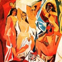 Poster Picasso Art. 11 cm 35x35 Stampa Falsi d'Autore Affiche Plakat Fine Art