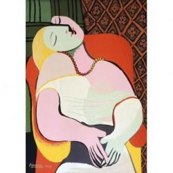 Poster Picasso Art. 12 cm 50x70 Stampa Falsi d'Autore Affiche Plakat Fine Art