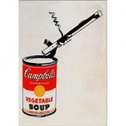 Poster Warhol Art. 01 cm 35x50 Stampa Falsi d'Autore Affiche Plakat Fine Art