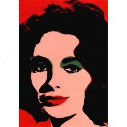 Poster Warhol Art. 02 cm 35x50 Stampa Falsi d'Autore Affiche Plakat Fine Art