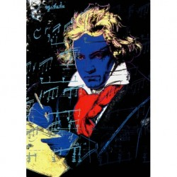 Poster Warhol Art. 03 cm 35x50 Stampa Falsi d'Autore Affiche Plakat Fine Art