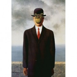 Poster Magritte Art. 05 cm 35x50 Stampa Falsi d'Autore Affiche Plakat Fine Art
