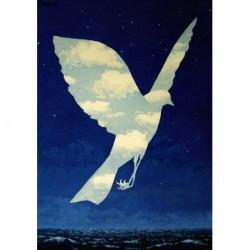 Poster Magritte Art. 06 cm 50x70 Stampa Falsi d'Autore Affiche Plakat Fine Art