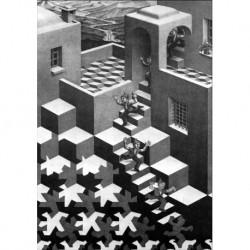 Poster Escher Art. 02 cm 35x50 Stampa Falsi d'Autore Affiche Plakat Fine Art