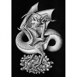 Poster Escher Art. 03 cm 70x100 Stampa Falsi d'Autore Affiche Plakat Fine Art