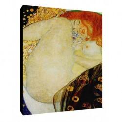 Quadro Klimt Art. 02 cm 50x70 Trasporto Gratis intelaiato pronto da appendere Stampa su tela Canvas