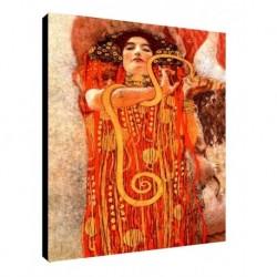 Quadro Klimt Art. 09 cm 35x50 Trasporto Gratis intelaiato pronto da appendere Stampa su tela Canvas