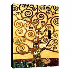 Quadro Klimt Art. 14 cm 35x50 Trasporto Gratis intelaiato pronto da appendere Stampa su tela Canvas