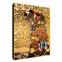 Quadro Klimt Art. 15 cm 50x70 Trasporto Gratis intelaiato pronto da appendere Stampa su tela Canvas
