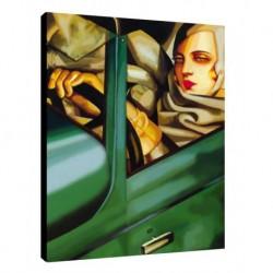 Quadro Lempicka Art. 03 cm 50x70 Trasporto Gratis intelaiato pronto da appendere Stampa su tela Canvas