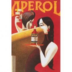 Poster Manifesto Aperol  Art. 18 cm 35x50 Stampe Falsi d'Autore Affiche Plakat Fine Art