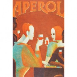 Poster Manifesto Aperol  Art. 19 cm 35x50 Stampe Falsi d'Autore Affiche Plakat Fine Art