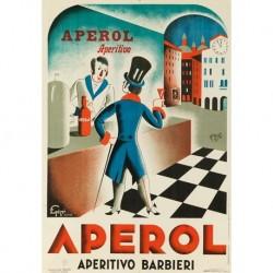 Poster Manifesto Aperol  Art. 20 cm 35x50 Stampe Falsi d'Autore Affiche Plakat Fine Art
