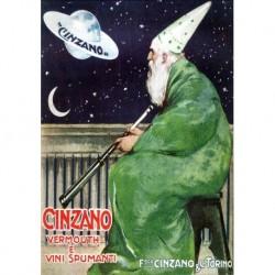 Poster Manifesto  Cinzano Art. 46 cm 35x50 Stampe Falsi d'Autore Affiche Plakat Fine Art