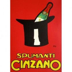 Poster Manifesto  Cinzano Art. 47 cm 35x50 Stampe Falsi d'Autore Affiche Plakat Fine Art