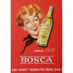 Poster Manifesto Bosca Art. 57 cm 35x50 Stampe Falsi d'Autore Affiche Plakat Fine Art