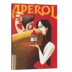 Quadro Manifesto Aperol  Art. 18 cm 35x50 Stampe Falsi d'Autore Bild Fine Art