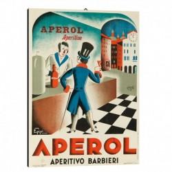 Quadro Manifesto Aperol  Art. 20 cm 35x50 Stampe Falsi d'Autore Bild Fine Art