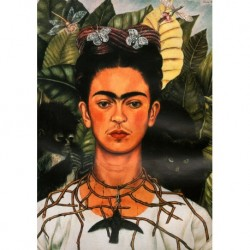 Poster Frida Kalo Art. 01 cm 35x50 Stampa Falsi d'Autore Affiche Plakat Fine Art
