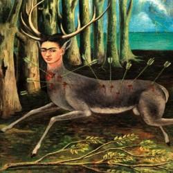 Poster Frida Kalo Art. 02 cm 70x100 Stampa Falsi d'Autore Affiche Plakat Fine Art