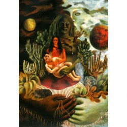 Poster Frida Kalo Art. 03 cm 50x70 Stampa Falsi d'Autore Affiche Plakat Fine Art